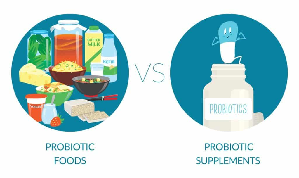 Probiotics Food & Supplement
