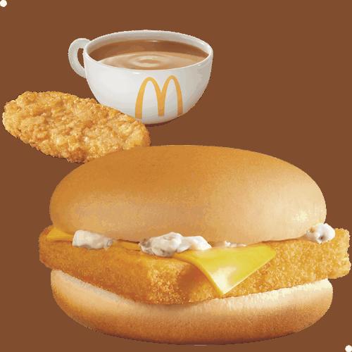 魚柳飽早晨套餐