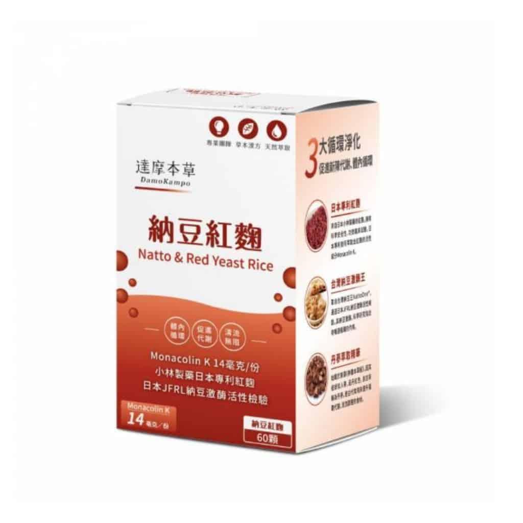 納豆紅麴_Delish Wellness